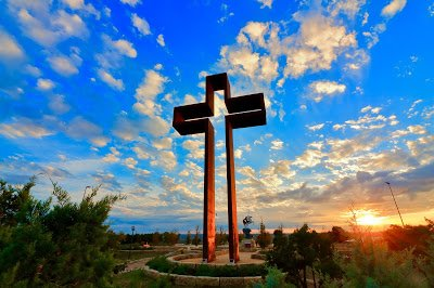 Thanks to Todd Obiedo for a Beautiful Photo of the Empty Cross
