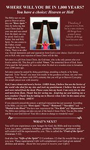 Read Salvation Plaque